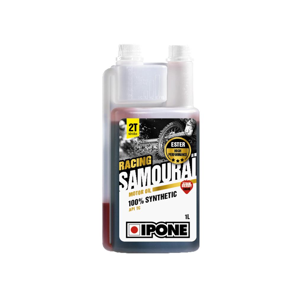 IPONE sintetičko ulje za mešavinu 2T dozer sa mirisom JAGODE Samourai racing 1L