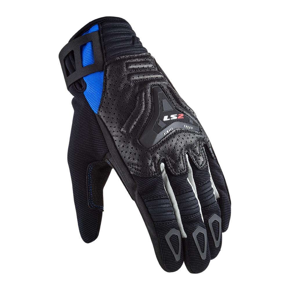 Rukavice LS2 ALL TERRAIN MAN BLACK BLUE XL